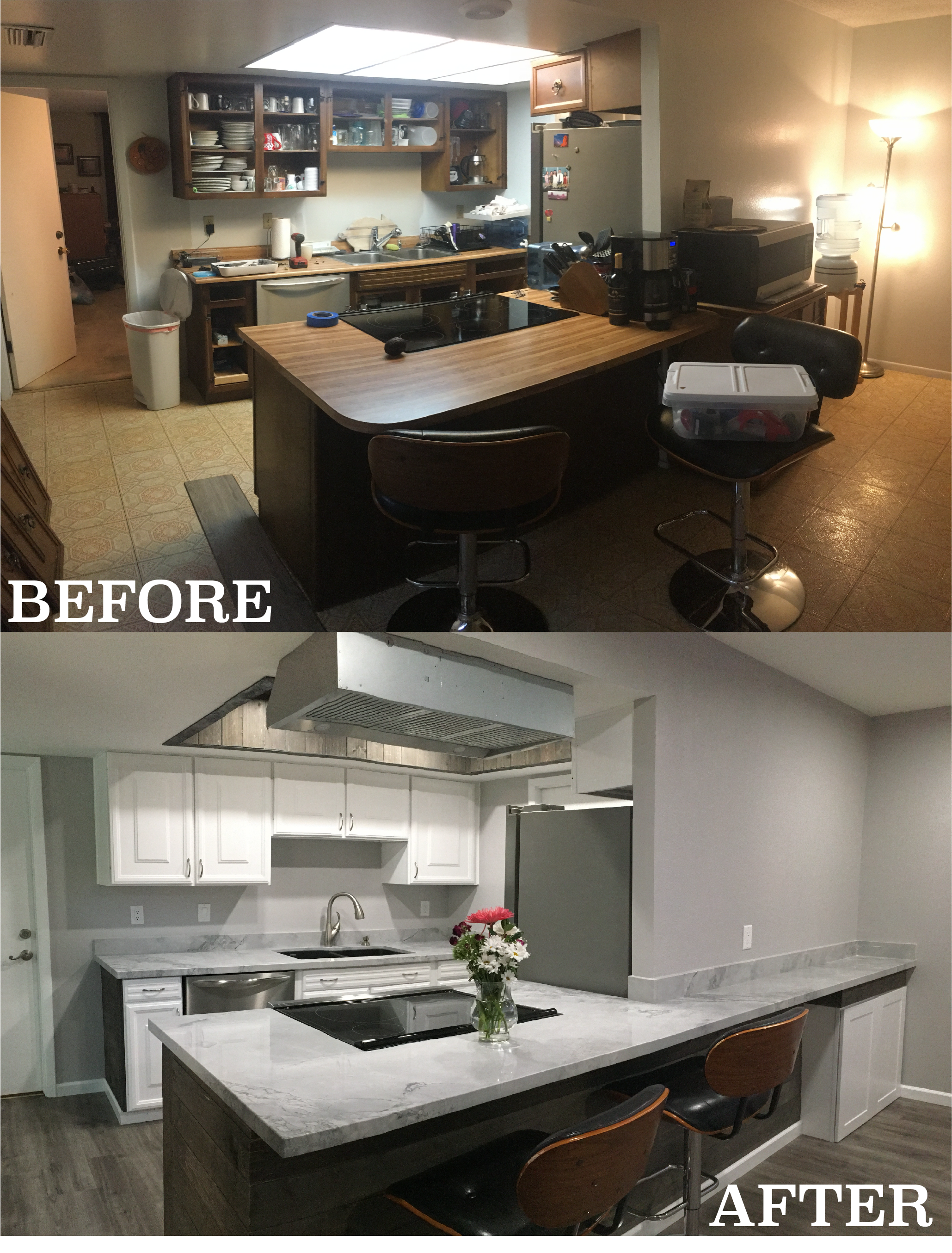 martha before and after kitchen